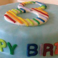 children's birthday cake from grange bakery, grange over sands, cumbria